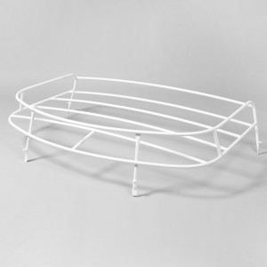 White roof rack for camper van